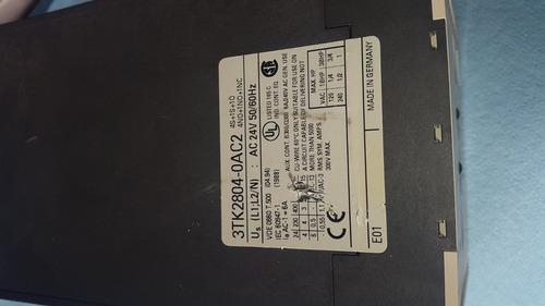 relay de seguridad relevador 3tk2804-0ac2 power industrial