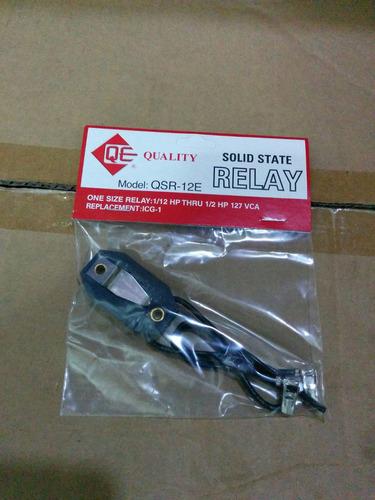relay electronico para compresores de nevera 1/6-1/4-1/3hp