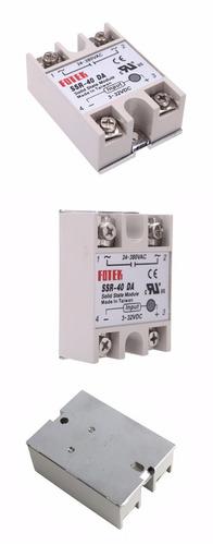 relay estado solido para arduino 40a. 3-32 vdc control