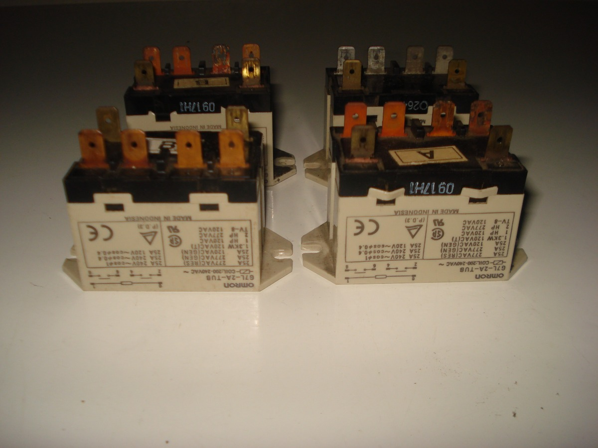 Relay Omron G7l 2a Tub 200 240vac Bs 100000 En Mercado Libre Power Cargando Zoom
