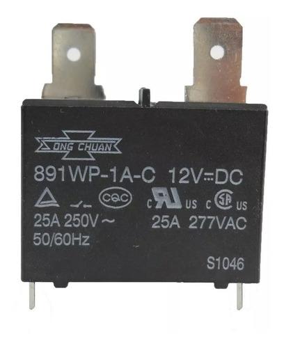 relay rele aire acondicionado bobina 12vdc 25a importado
