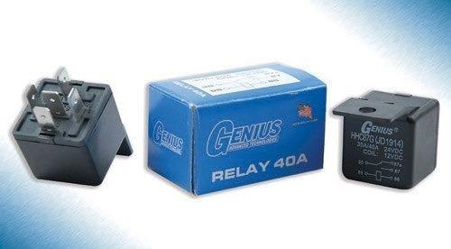 relay  relé genius 12v 40a uso automotriz