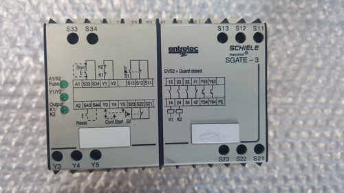 relay relevador de seguridad sgate-3 power industrial