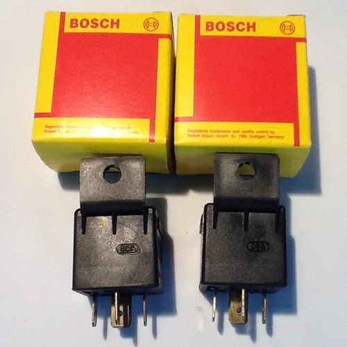 rele  5 patas bosch 70/90 made in germany 2 unidades