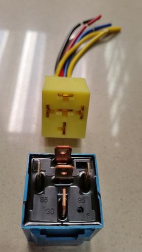 rele 5 pinos auxiliar com base de 40 amperes 40a 12v 12volts