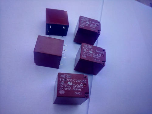 rele 875b-1cc-c 24 v   5 pçs