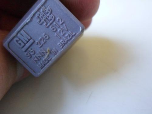 relé auxiliar gm kadett monza e ipanema original 93 226 612