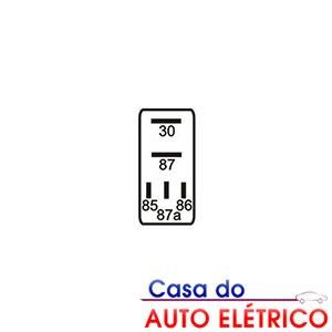 rele auxiliar mini terminais amperes diodo todos anos