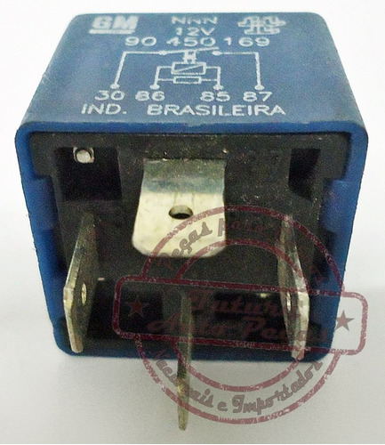 rele auxiliar original 90450169 para gm