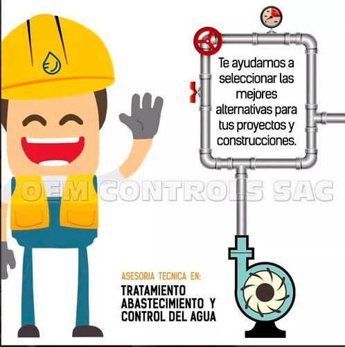 rele control de nivel por electrodos para tablero 220v alco