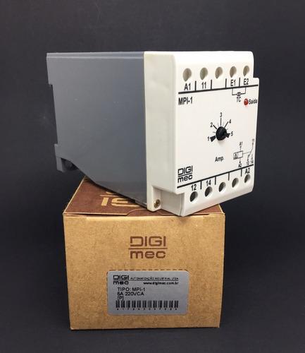 rele de corrente mpi-1 digimec