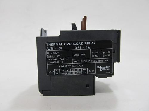 rele de sobrecarga térmica - telemecanique avr1-05