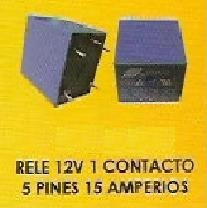 relé electrónico 12vdc distintos pines y conectores amperaje