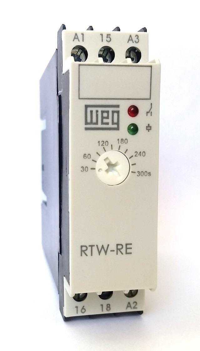 e6d66a9193e Rele Eletronico Rtw-re01-u030me40 3-30min Weg - R  55