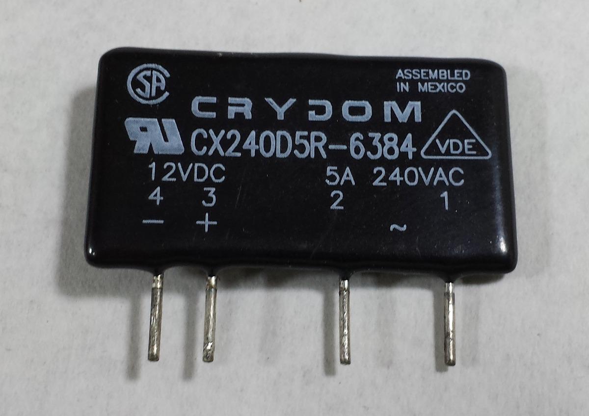 Rele Estado Solido Crydom 5amp Solid State Relay Pcb Bs 6600 En Cargando Zoom