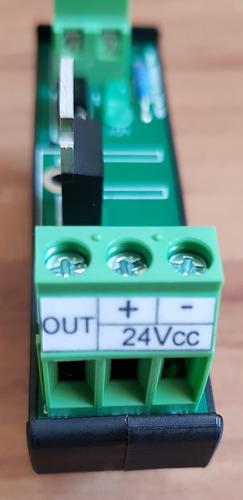 rele estado solido optoacoplado pnp 24 vcc x 2a trilho din