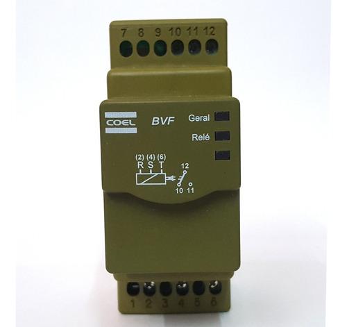rele falta de fase trifasico coel bvf1 digital 208 a 480vca