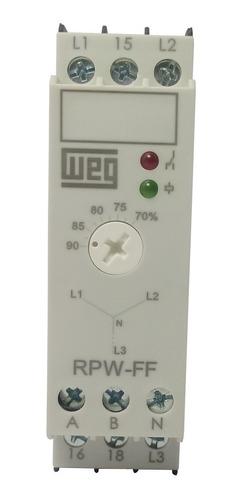 rele falta de fase weg rpw-ff-d70 380-415vca