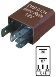 relé mini universal 5 pinos renault, fiat, gm, e outros
