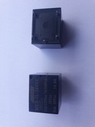 rele mkb-3l-024vcc 12a  5 pinos kit com 10 pçs