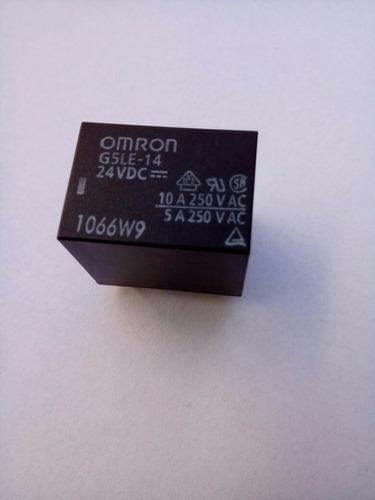 rele  omron  g5le-14  24vdc 10 a 250v  3 pçs