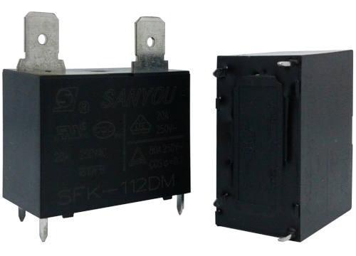 relé para ar condicionado sfk-112dm 12v dc-h 20a 250vac