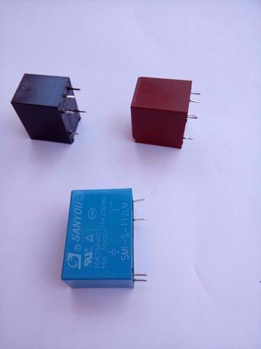 rele  pci 12vdc spco 10a / 250vac / g5le-14 12vdc  kit com 3