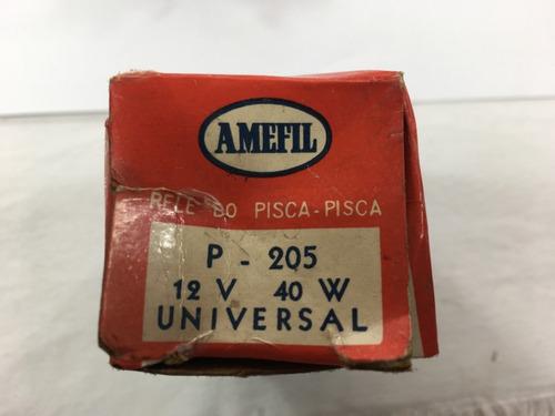 rele pisca pisca 12v 40w vw gm brasil amefil p205 hp698