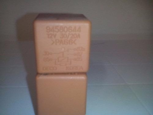rele / relay bomba de gasolina corsa gm 94580644