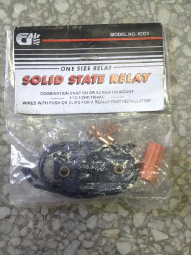 rele relay electrónico de arranque para neveras 1/12-1/2 hp