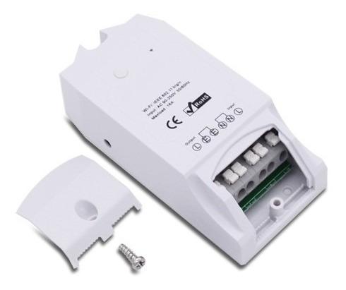 relé smarthome pow controla consumo de energía wifi-domotica