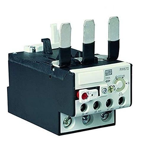 relé sobrecarga weg rw67 contactor cwm. rangos hasta 57 amp.