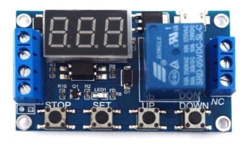 relé temporizador digita  até 999 min  + fonte 12v - 500ma