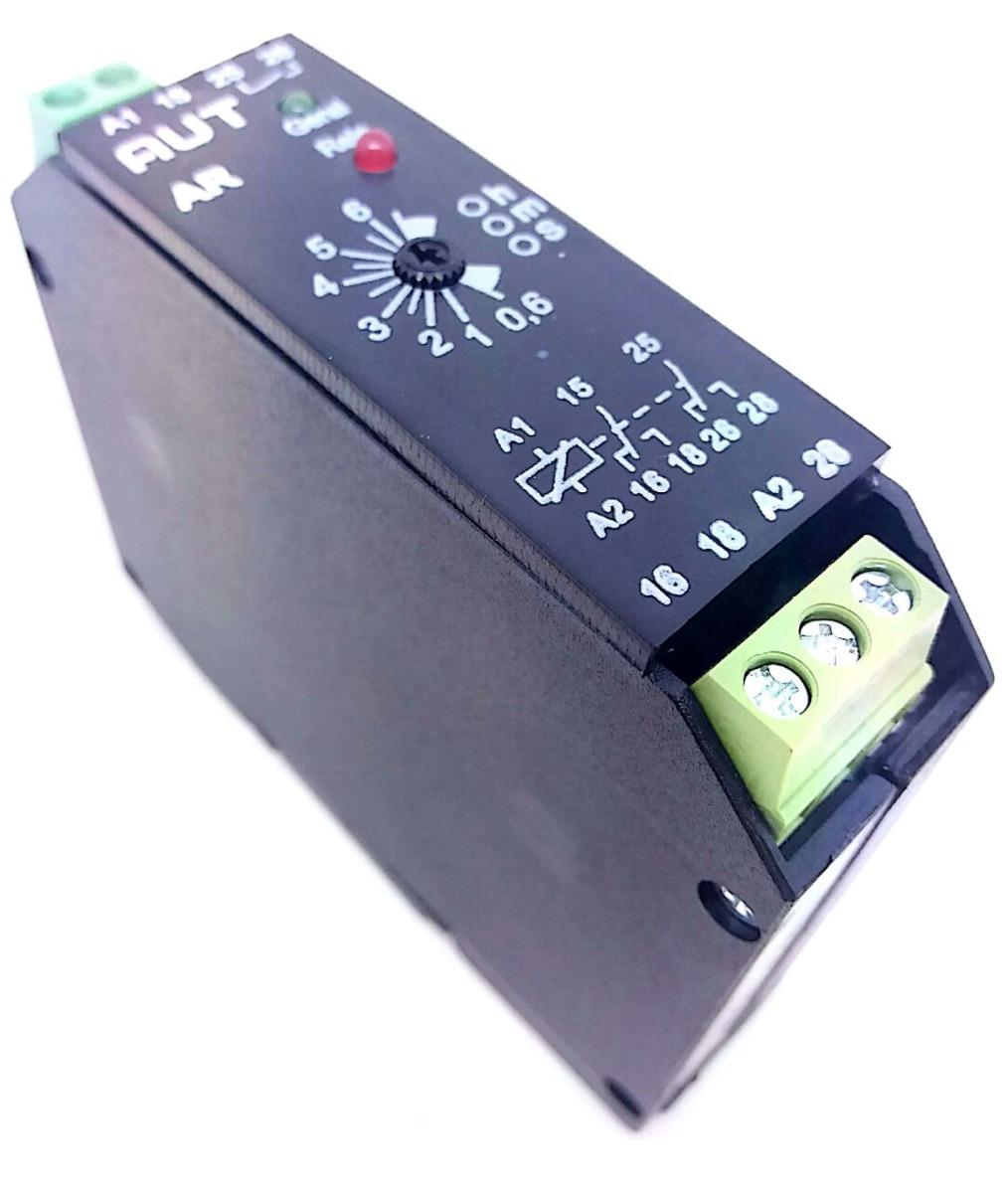 6d9c2f89d56 Relé Temporizador Retardo Eletrônico E 3 Horas 110 Vac Autc - R  55 ...