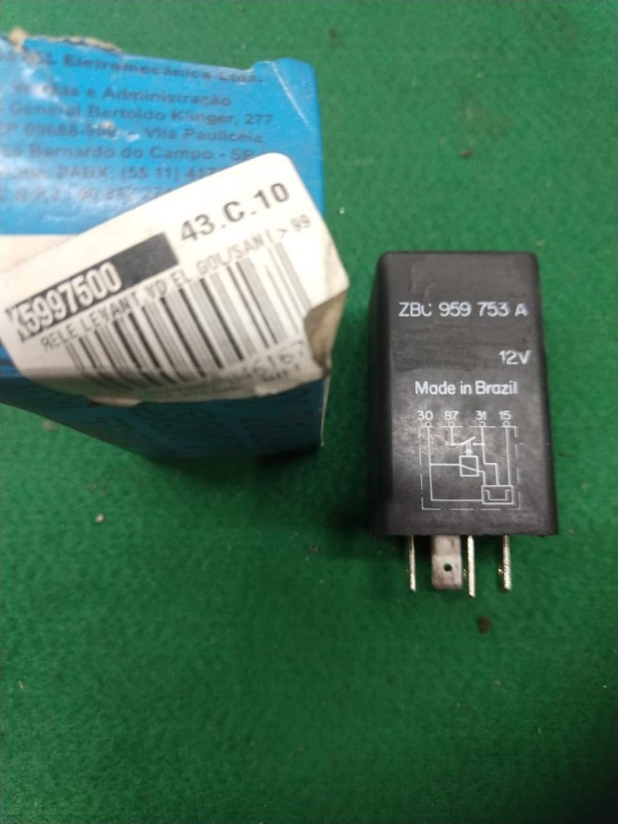 ce29772b417 relé temporizador vidro elétrico original vw santana quantum. Carregando  zoom.