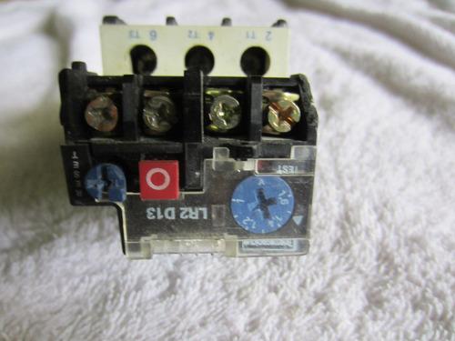 rele termico 1,2-1,6 amp telemecanique lr2 d13, 1no 1nc