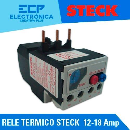 rele termico steck  12 - 18 amp p/sd2 frame 25