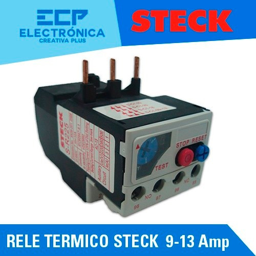 rele termico steck  9 - 13 amp p/sd2 frame 25