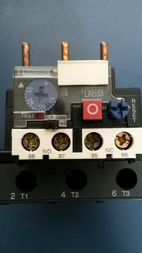 relé térmico telemecanique lrd3361 55-70a