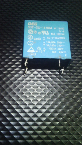 rele tv deg sdt-ss 112 dm 12v 10 amp 250v