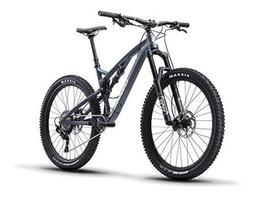 release 2 full suspension mountain bike, blue, 15.5 /sm