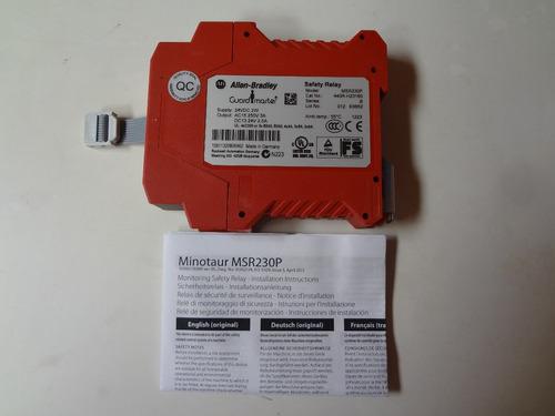 relevador de seguridad msr230p   allen bradley