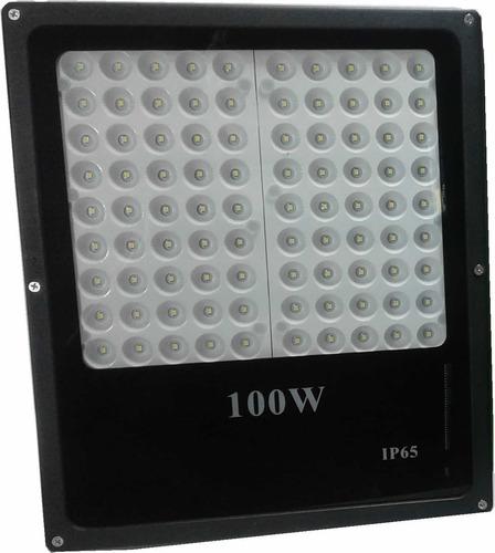 relfector led 100w multipunto mas potencia y bajo consumo