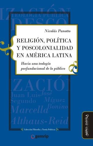 religión política y poscolonialidad en américa latina (myd)