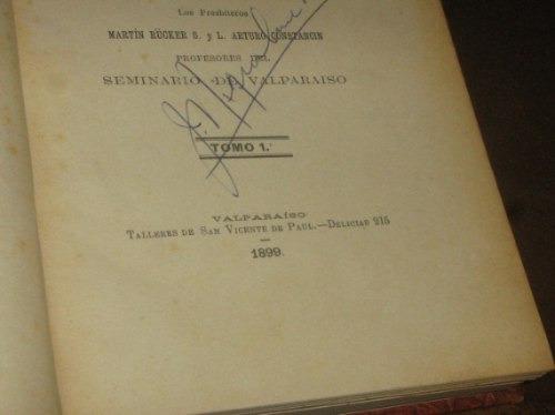 religion, reverendo padre boudadalque  1899,tomos 1y 2