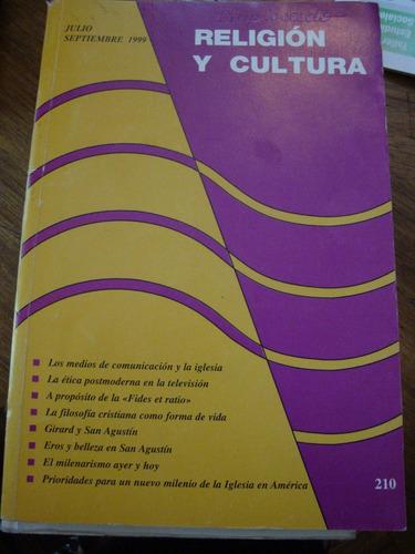 religion y cultura. julio-septiembre de 1999