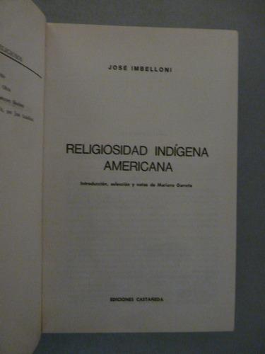 religiosidad indígena americana