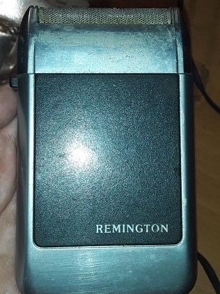 reliquia afeitadora remington electrica con estuche