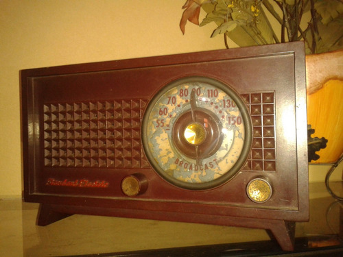 relíquia: rádio standard electric/1952- modelo 1050 virtuose