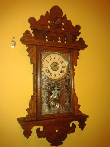 relíquia: relógio ansonia eclipse alarm clock- new york/1900